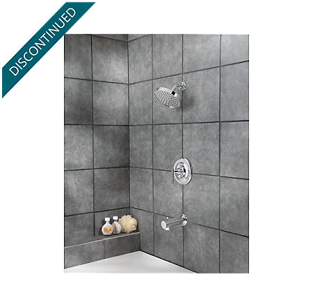 Polished Chrome Contempra Tub & Shower Combo - R89-8NC1 - 2