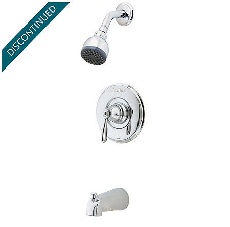 Polished Chrome Portland Tub & Shower Combo - R89-8PC0 - 1