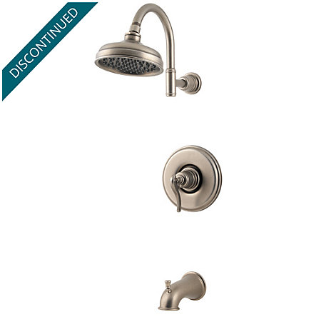 Rustic Pewter Ashfield Tub & Shower Combo - R89-8YPE - 1