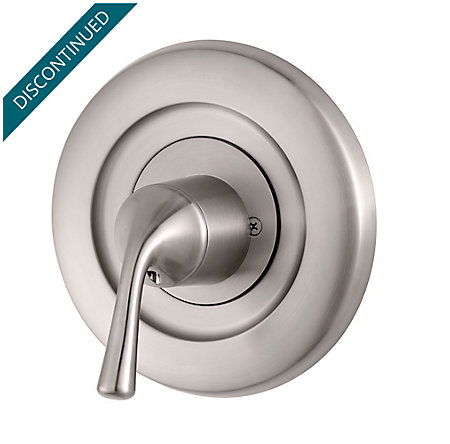Brushed Nickel Universal Tub and Shower Valve Only Trim Delta - R90-1DSK - 1