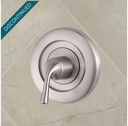 Brushed Nickel Universal Tub and Shower Valve Only Trim Delta - R90-1DSK - 2