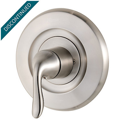 Brushed Nickel Universal Tub and Shower Valve Only Trim Moen - R90-1MNK - 1