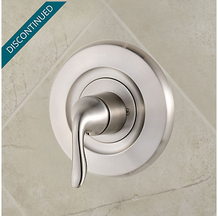 Brushed Nickel Universal Tub and Shower Valve Only Trim Moen - R90-1MNK - 2