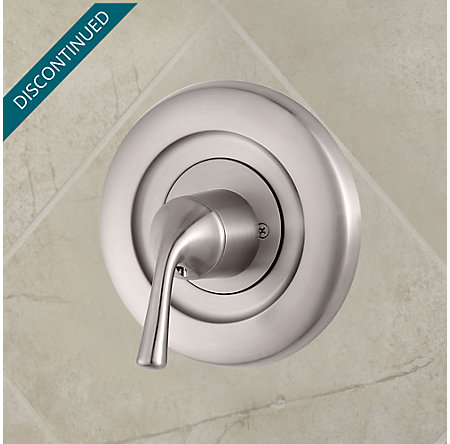 Brushed Nickel Universal Tub and Shower Valve Only Trim Moen - R90-1MSK - 2