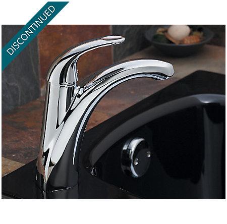 Polished Chrome Parisa 1 Hole Roman Tub - RT6-AMCC | Pfister Faucets