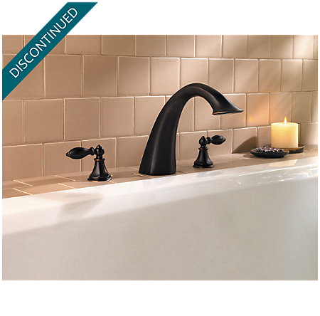Tuscan Bronze Catalina 3-Hole Roman Tub, Valve and Handle Not Included - RT6-5EXY - 2