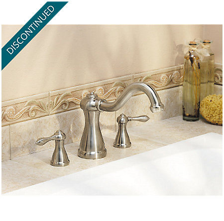 Brushed Nickel Marielle 3 Hole Roman Tub - RT6-M0XK - 2