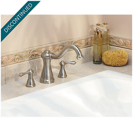 Brushed Nickel Marielle 3 Hole Roman Tub - RT6-M0XK - 3