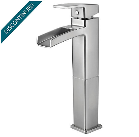 Brushed Nickel Kenzo Vessel Bath Faucet - T40-DF0K - 1