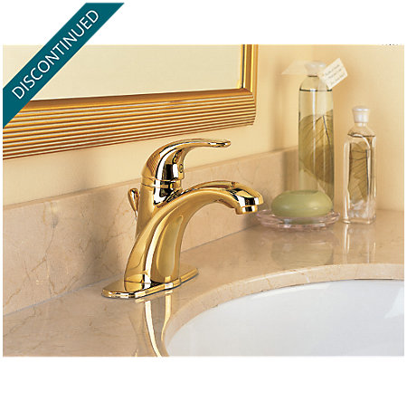 Polished Brass Parisa Single Control, Centerset Bath Faucet - T42-AMFP - 4