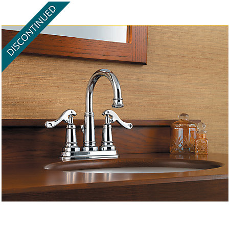 Polished Chrome Ashfield Centerset Bath Faucet - T43-YP0C - 2