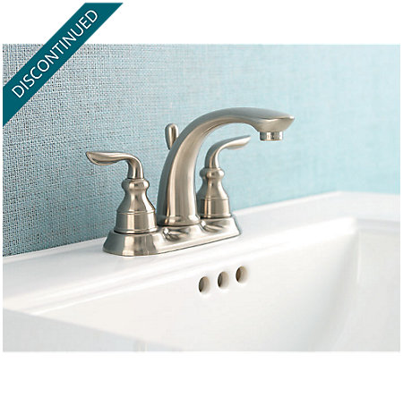 Brushed Nickel Avalon Centerset Bath Faucet - T48-CB0K - 2