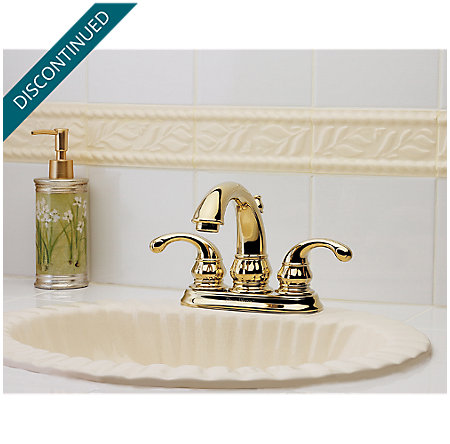 Polished Brass Treviso Centerset Bath Faucet - T48-DP00 - 2
