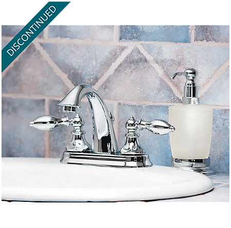 Polished Chrome Catalina Centerset Bath Faucet - T48-E0BC - 5