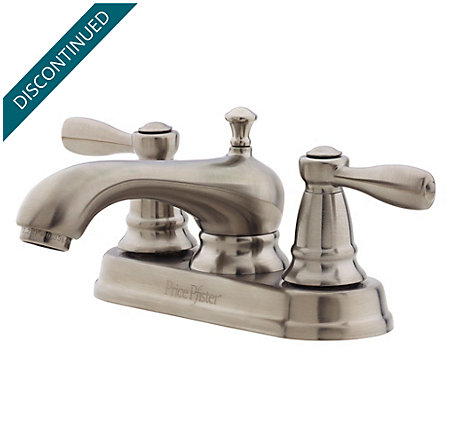 Brushed Nickel Portland Centerset Bath Faucet - T48-PK00 - 1