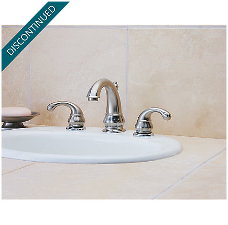 Brushed Nickel Treviso Widespread Bath Faucet - T49-DK00 - 2