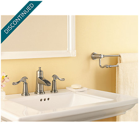 Brushed Nickel Ashfield Widespread Bath Faucet - T49-YP1K - 3