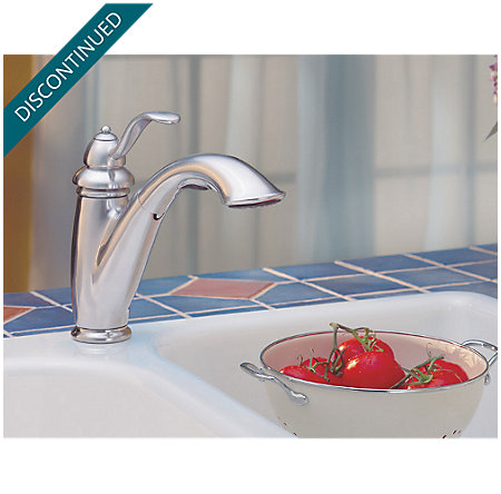 Stainless Steel Marielle 1-Handle, Pull-Out Kitchen Faucet - T532-7SS - 7