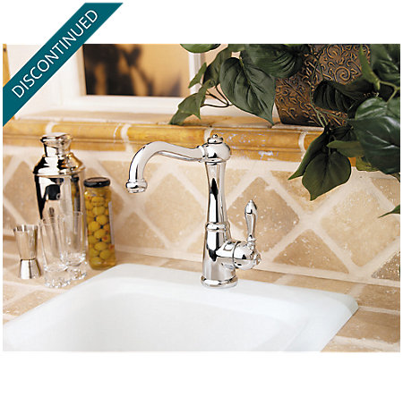 Polished Chrome Marielle  Kitchen Faucet - T72-M1CC - 3