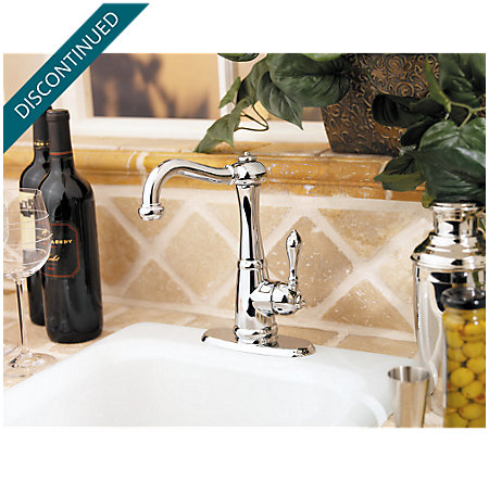 Polished Chrome Marielle  Kitchen Faucet - T72-M1CC - 6