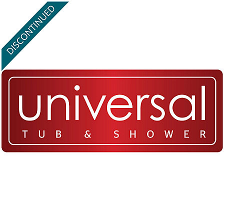 Brushed Stainless Steel Universal 1-Handle Tub & Shower, Trim Only - R90-TN2K - 4