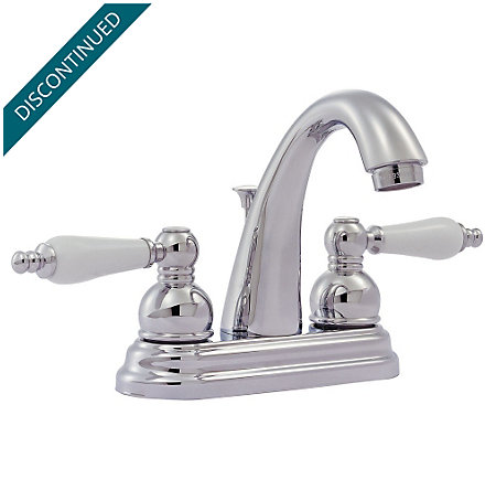 Polished Chrome Classic Centerset Bath Faucet - WL2-300C - 1