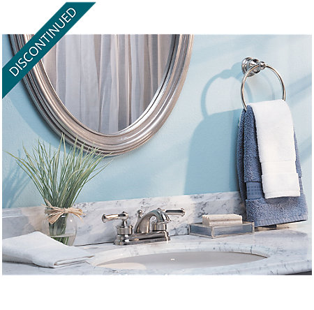 Brushed Nickel Classic Centerset Bath Faucet - WLA-220K - 2