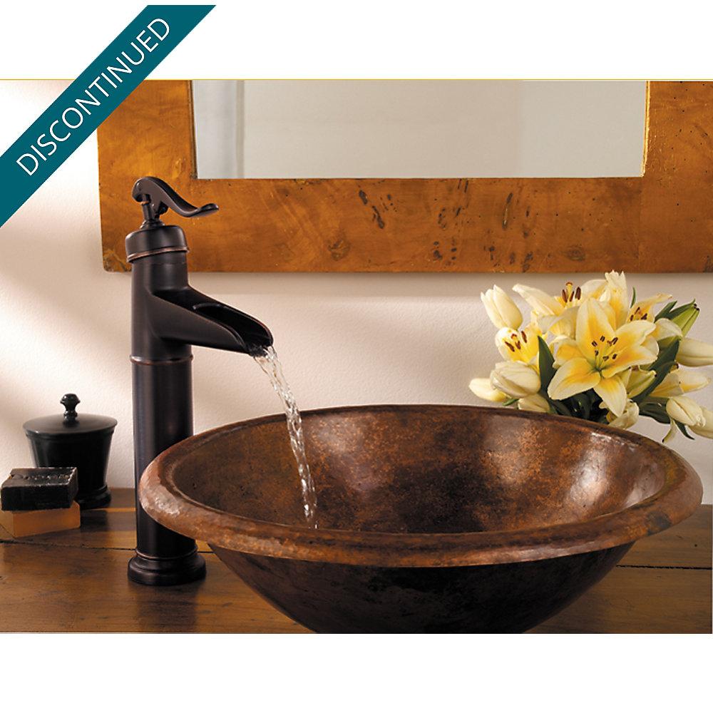 Tuscan Bronze Ashfield Vessel, Single Control Bath Faucet - 040-YP0Y ...
