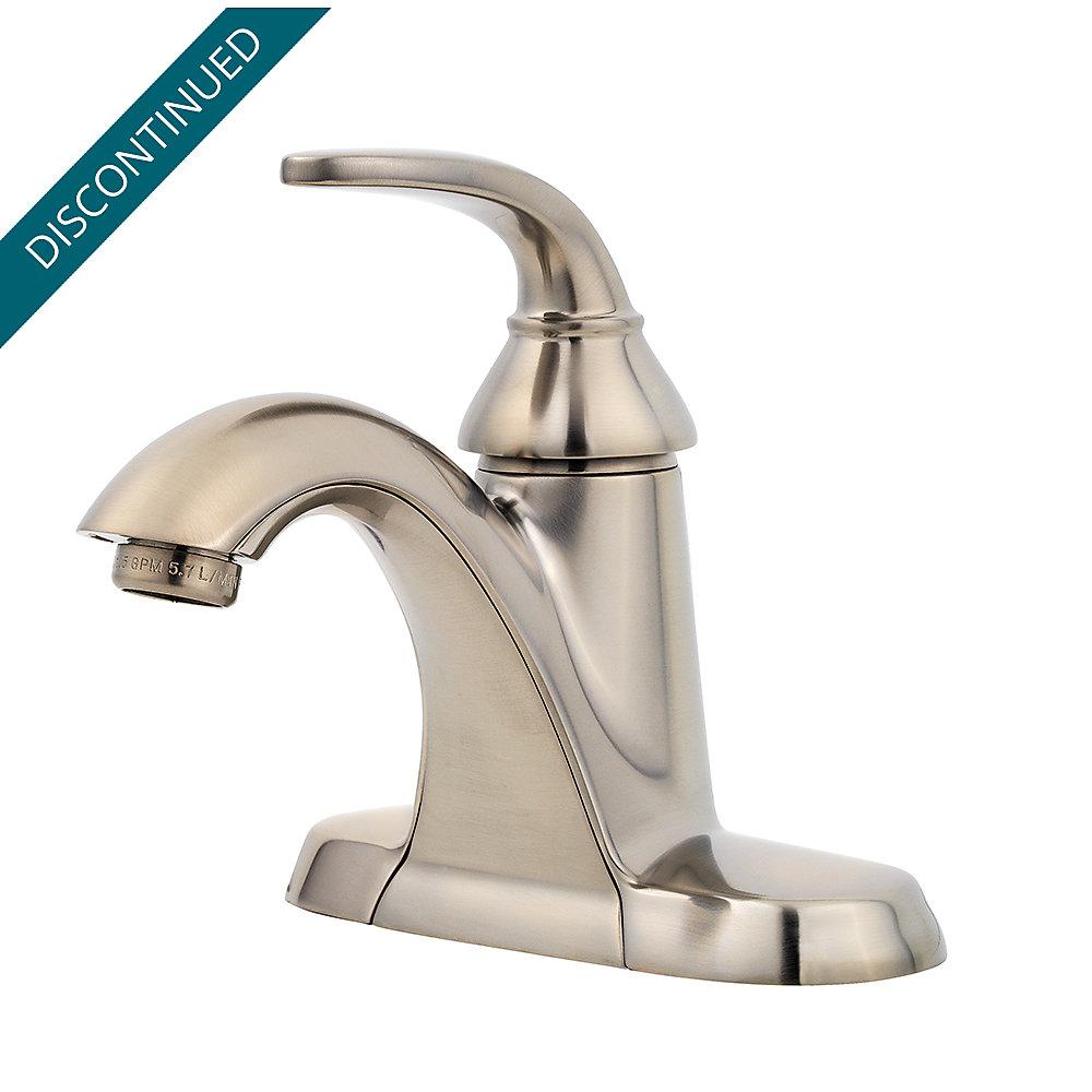 Brushed Nickel Pasadena Single Control Centerset Bath Faucet F 042 Pdkk