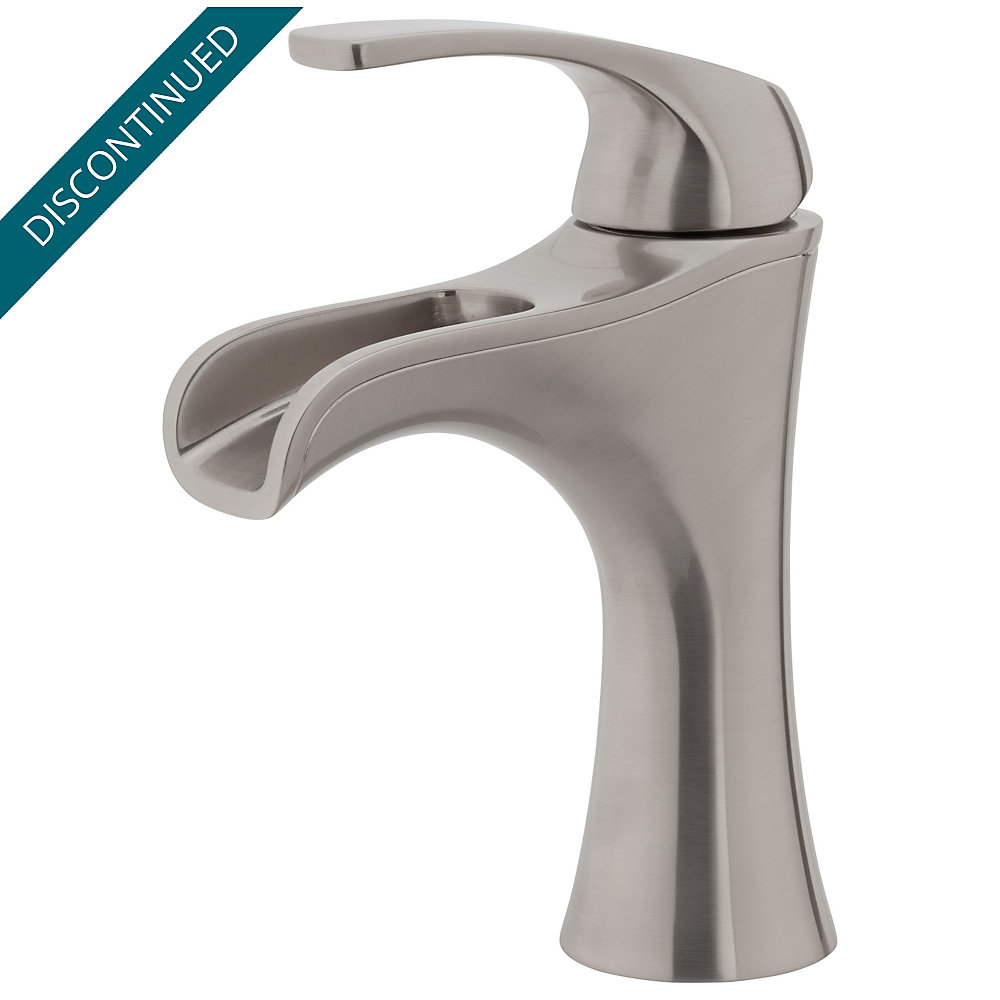 Brushed Nickel Jaida Single Control, Centerset Bath Faucet - F-042 ...