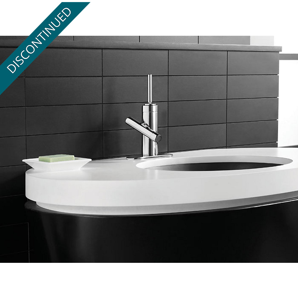 Polished Chrome Contempra Single Control, Centerset Bath Faucet - F ...