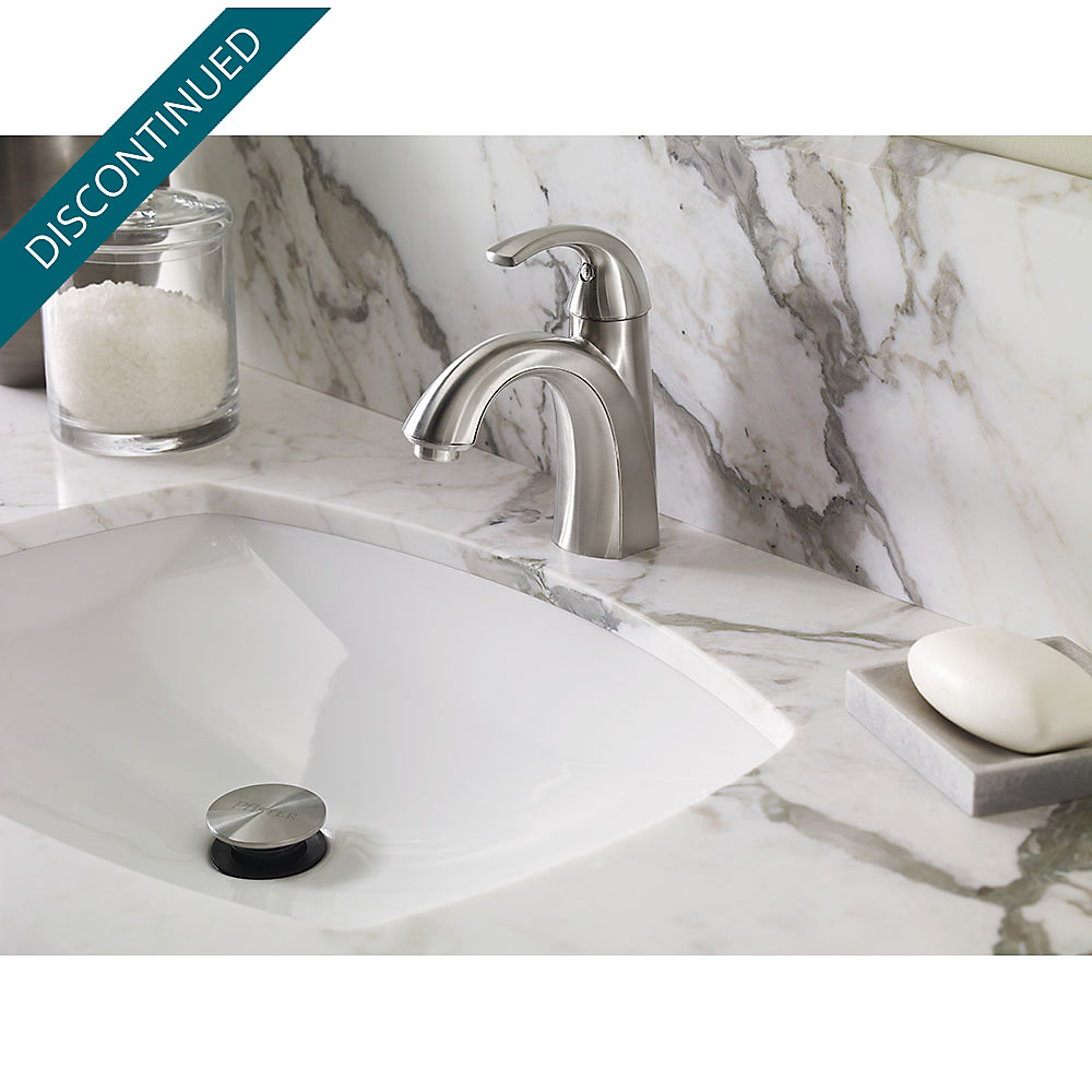 Brushed Nickel Selia Single Control Centerset Bath Faucet F - Pfister selia bathroom faucet