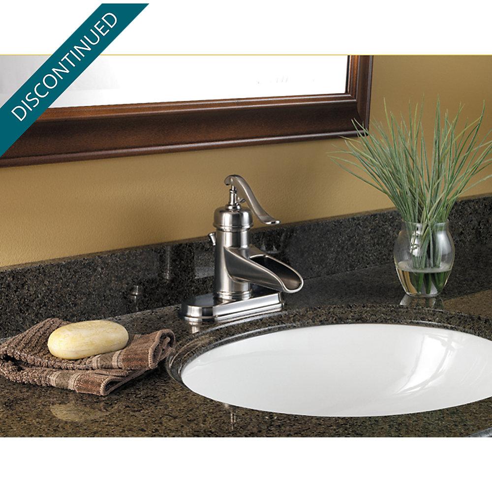 Brushed Nickel Ashfield Single Control Centerset Bath Faucet F 042 Yp0k