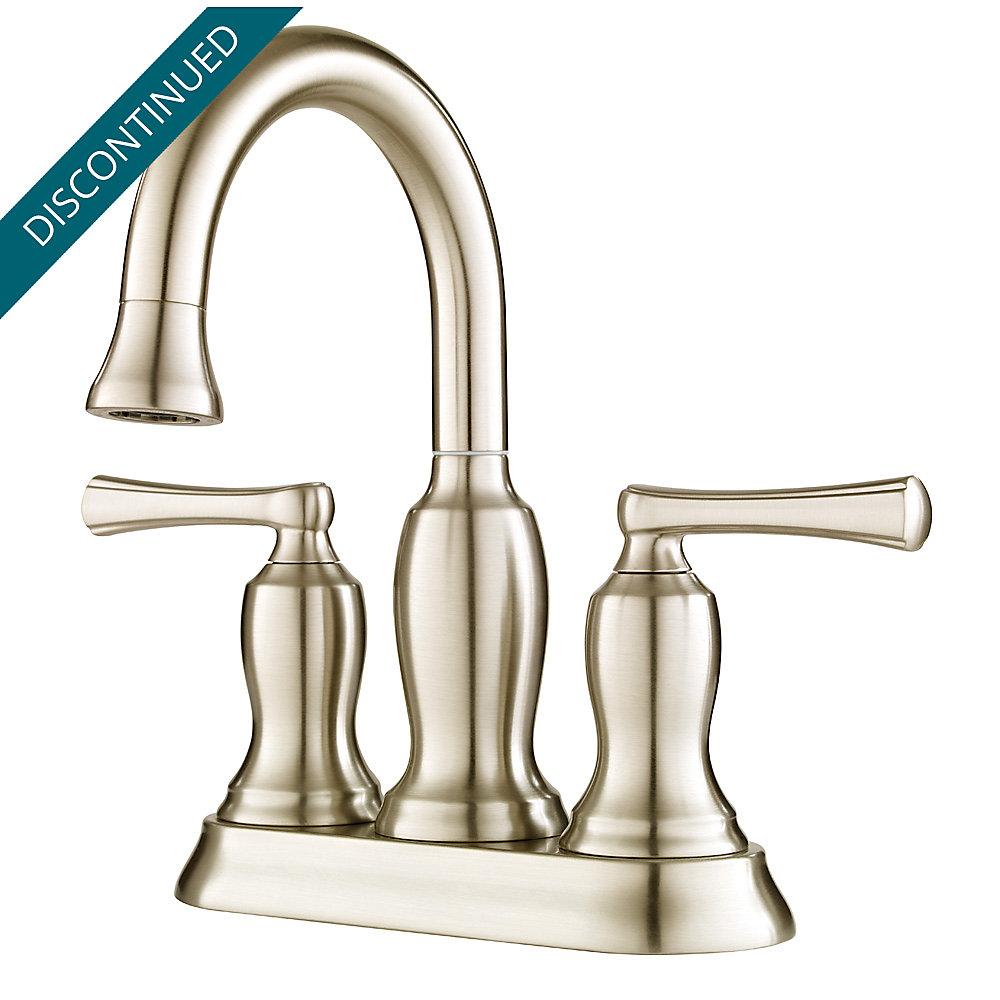 Brushed Nickel Lindosa Centerset Bath Faucet F 043 Ldkk Pfister Price Parts Diagram Faucets Reviews 1