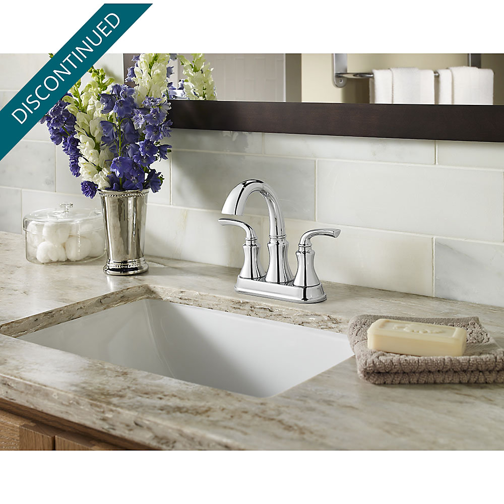 Polished Chrome Solita Centerset Bath Faucet - F-048-SOCC | Pfister ...