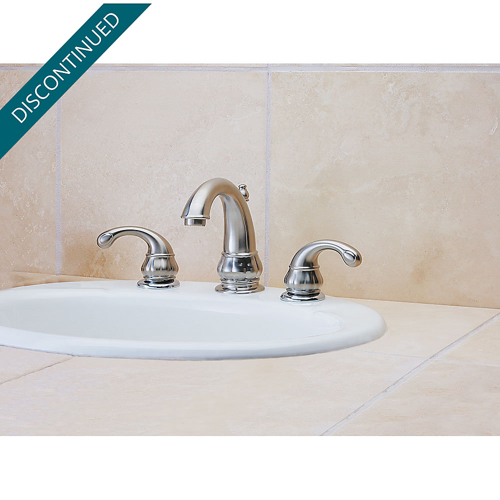 Brushed Nickel Treviso Widespread Bath Faucet - F-049-DK00 | Pfister ...