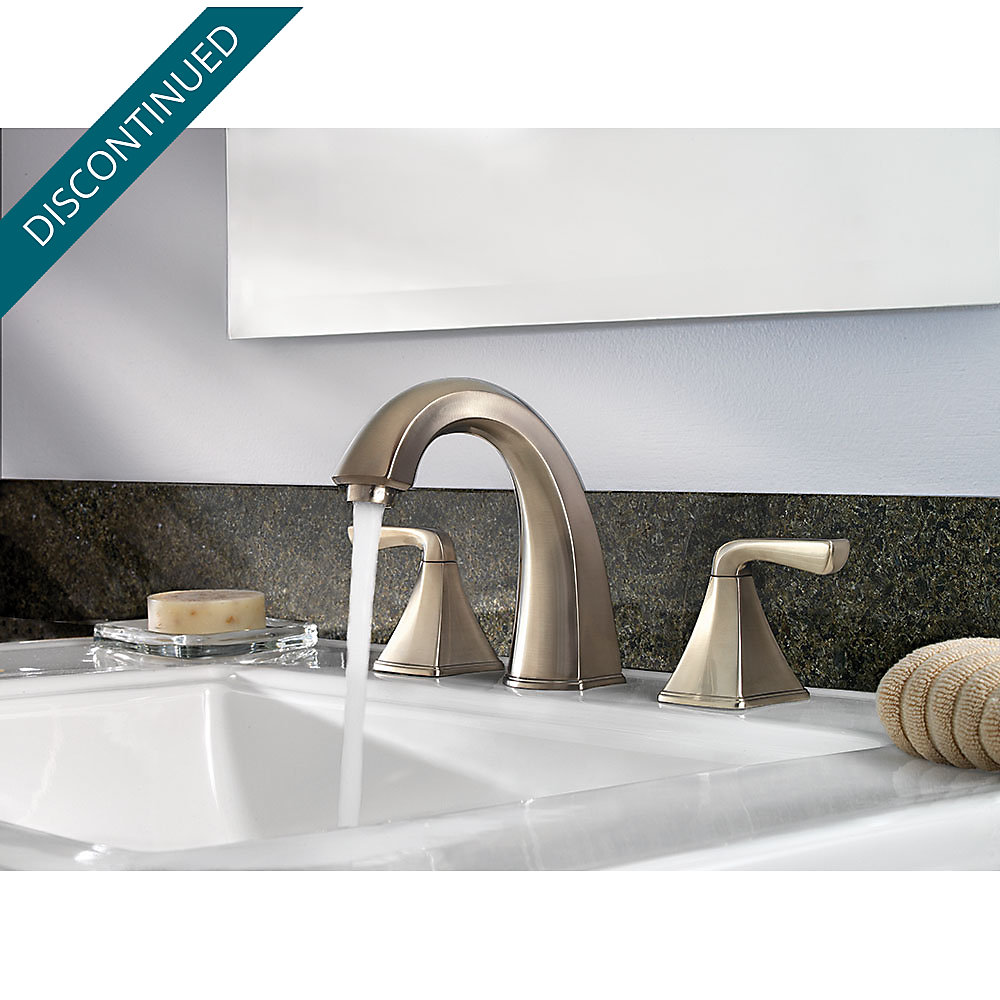 Brushed Nickel Selia Widespread Bath Faucet - F-049-SLKK | Pfister ...
