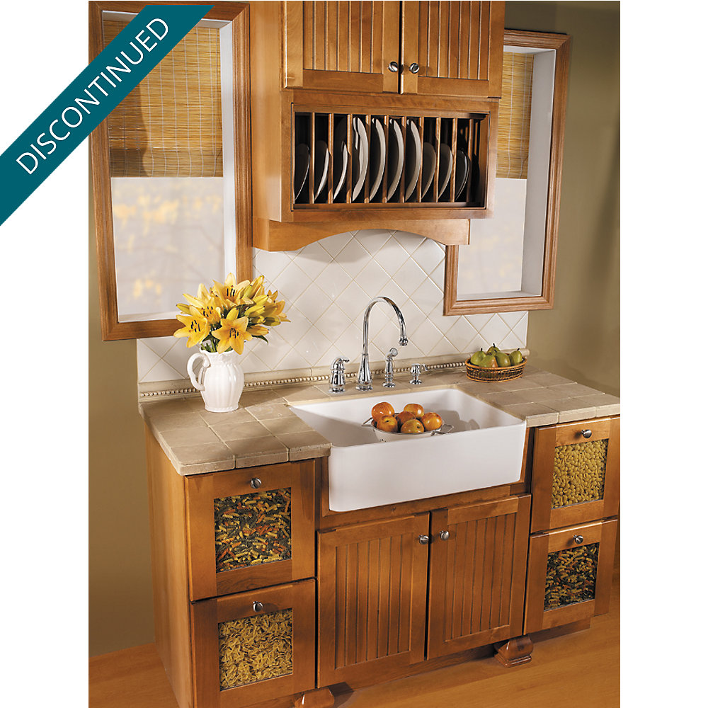 Stainless Steel Treviso 1-Handle Kitchen Faucet - GT26-4DSS ...