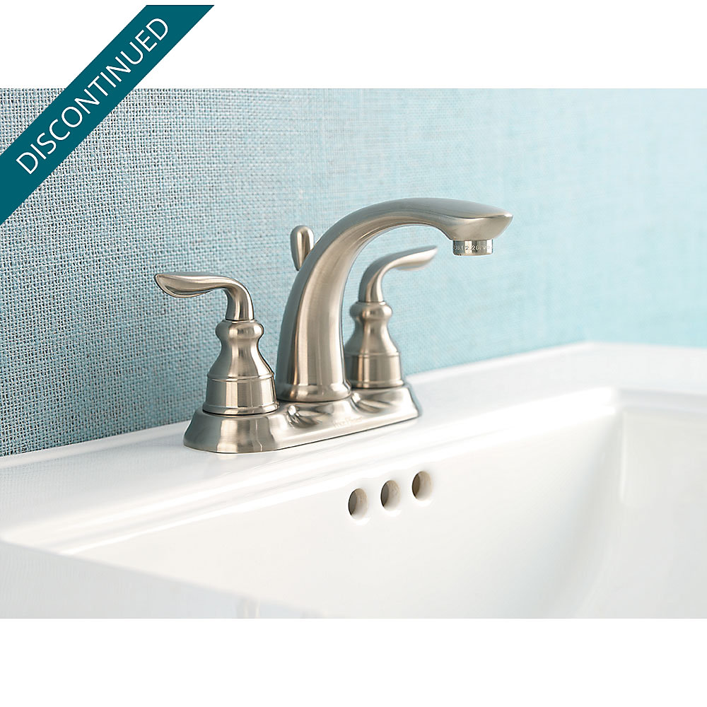 Brushed Nickel Avalon Centerset Bath Faucet - GT48-CB0K | Pfister ...