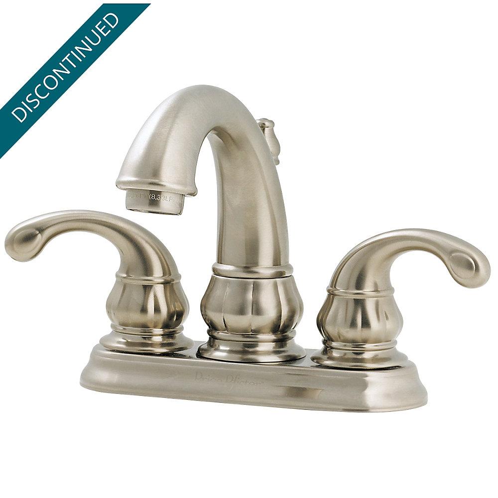 Brushed Nickel Treviso Centerset Bath Faucet - GT48-DK00 | Pfister ...