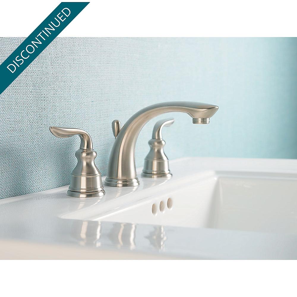 Brushed Nickel Avalon Widespread Bath Faucet - GT49-CB0K | Pfister ...