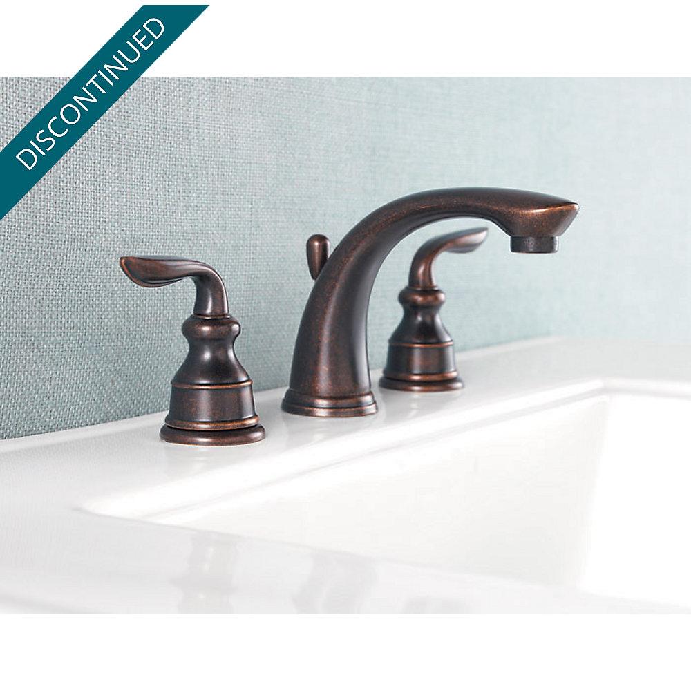 Rustic Bronze Avalon Widespread Bath Faucet - GT49-CB0U   Pfister ...