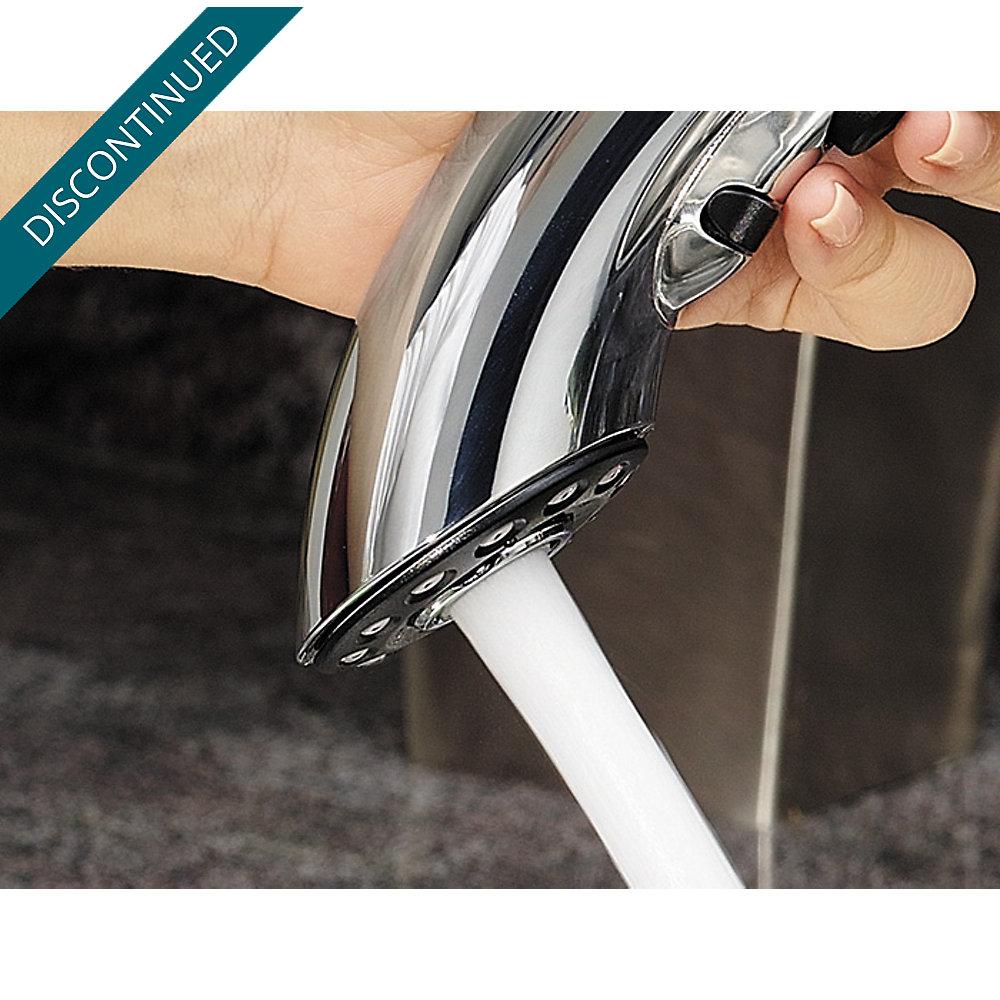 Polished Chrome Parisa 1-Handle, Pull-Out Kitchen Faucet - GT534-7CC ...