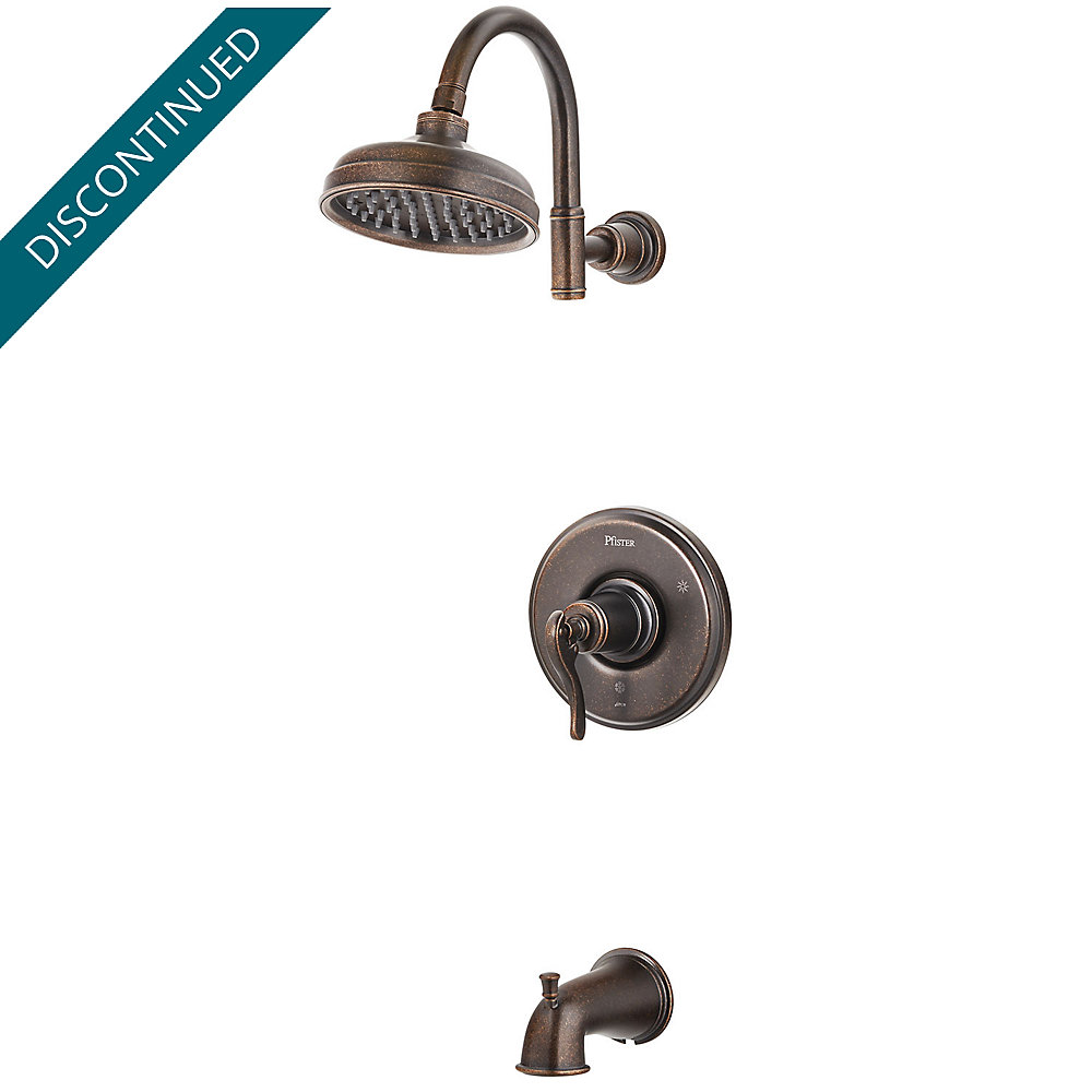 Rustic Bronze Ashfield 1-Handle Tub & Shower, Trim Only - R89-8YPU ...