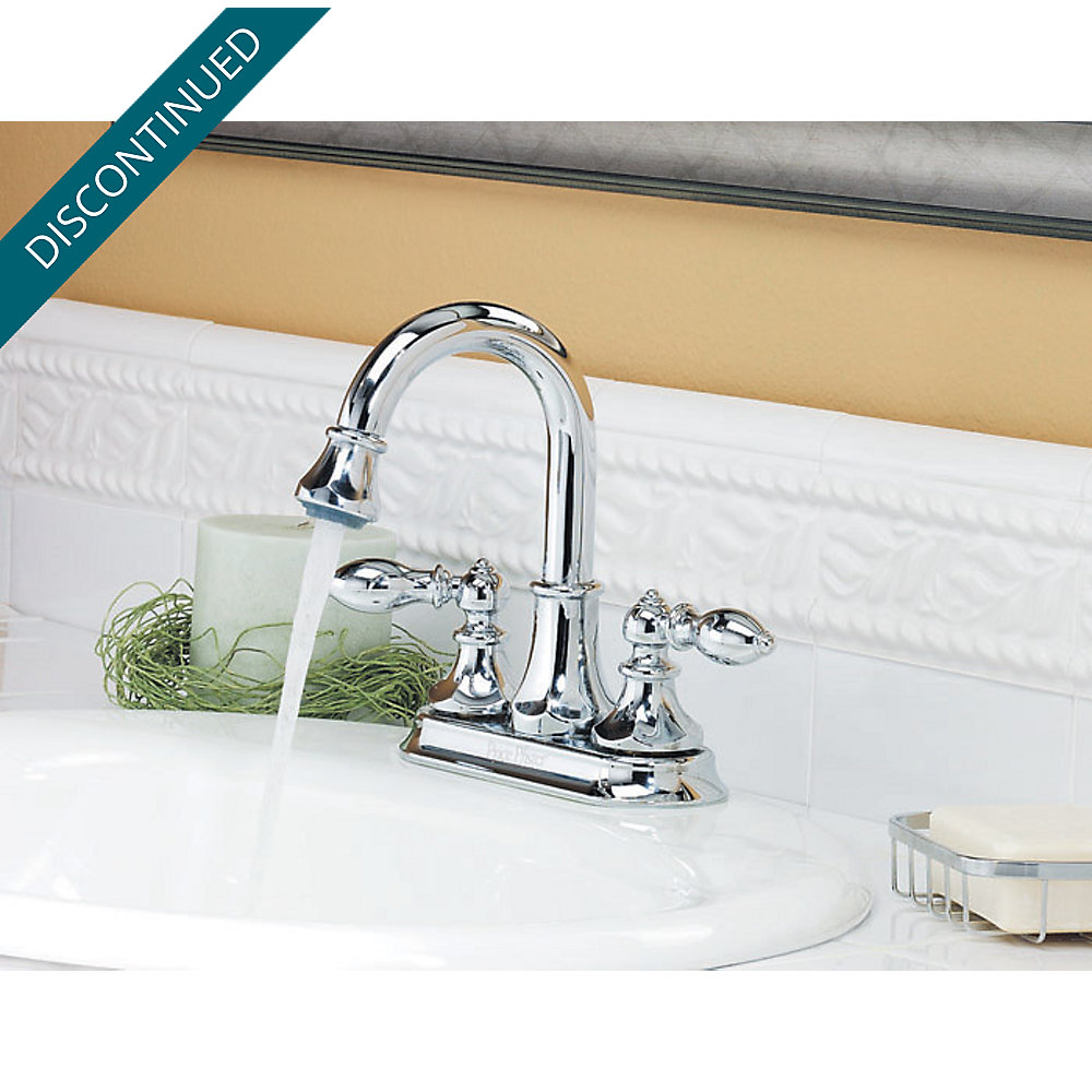 Polished Chrome Catalina Centerset, Pull-Out Bath Faucet - T548-EBC ...