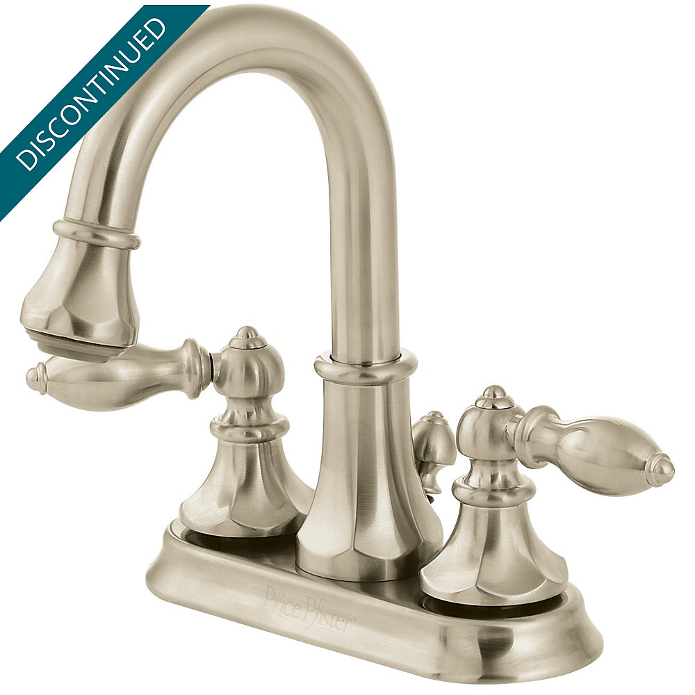 Brushed Nickel Catalina Centerset, Pull-Out Bath Faucet - T548-EBK ...