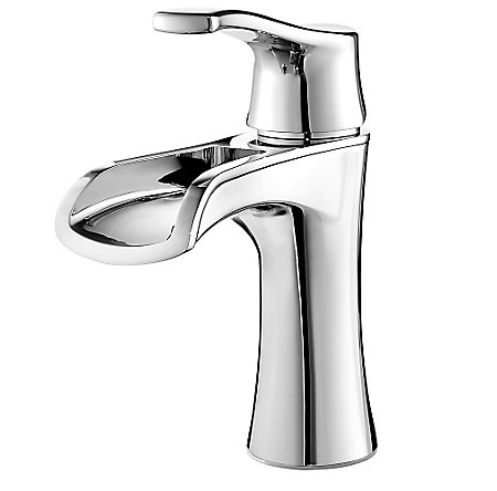 Polished Chrome Aliante Single Control, Centerset Bath Faucet - LF-042-ATCC - 1