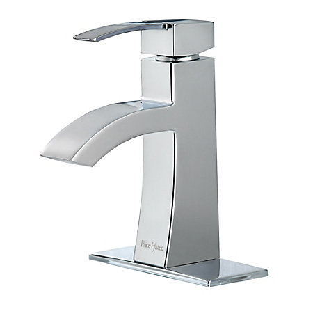 Polished Chrome Bernini Single Control, Centerset Bath Faucet - LF-042-BNCC - 1