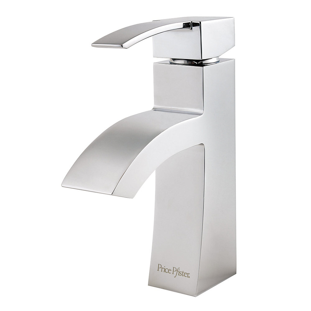 Polished Chrome Bernini Single Control, Centerset Bath Faucet - LF ...