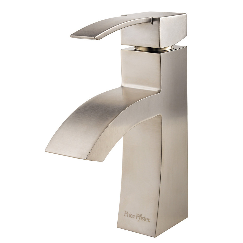 Brushed Nickel Bernini Single Control, Centerset Bath Faucet - LF ...